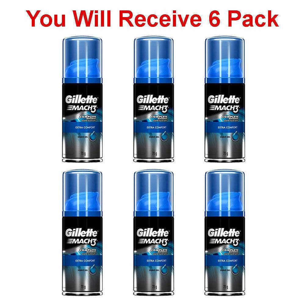 Gillette Comfort Advantage 3-in-1 Shave Gel Shaving Cream T