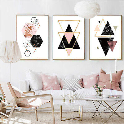 Geometry Abstract Canvas Poster Minimalist Wall Art Prints Home Decoration