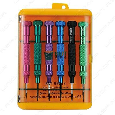 Best Screwdriver Repair Tool Kit Set Phone iPhone 5 6 Pentalobe Torx  Flat