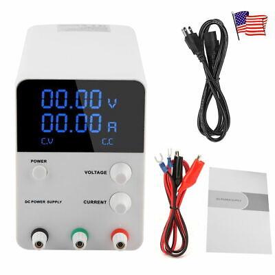 Dc Power Supply Variable Tacklife 4digital Lcd Display 0-32v0-10a Switching