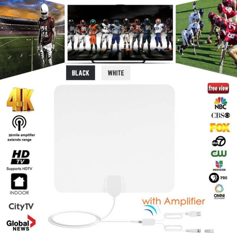 1/2 960 Miles HDTV Antenna Indoor Digital TV  UHF/VHF/1080p