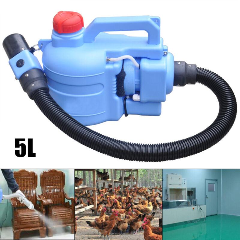 NEW Electric 5 L Fogger Sprayer Cold Fogging Disinfection Machine 400ml/min USA