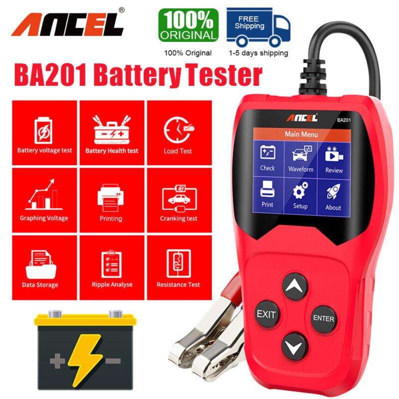 Car 12V 24V battery voltage Car Circuit Tester Battery tester AGM Flooded Gel