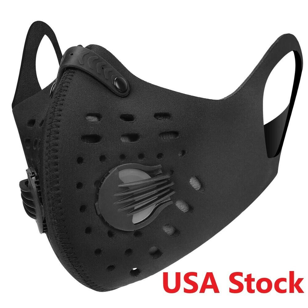 reusable cycling sport mask washable half face