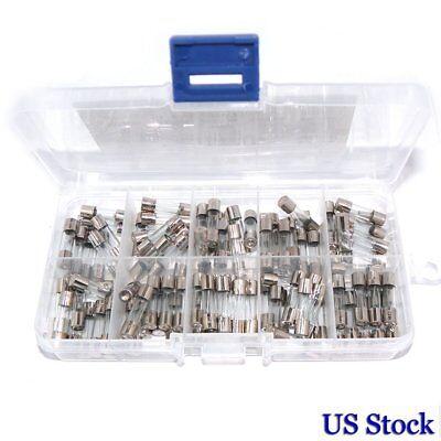 10 Value 100pcs 5x20mm Quick Fast Blow Glass Fuse Amp 0.2a20