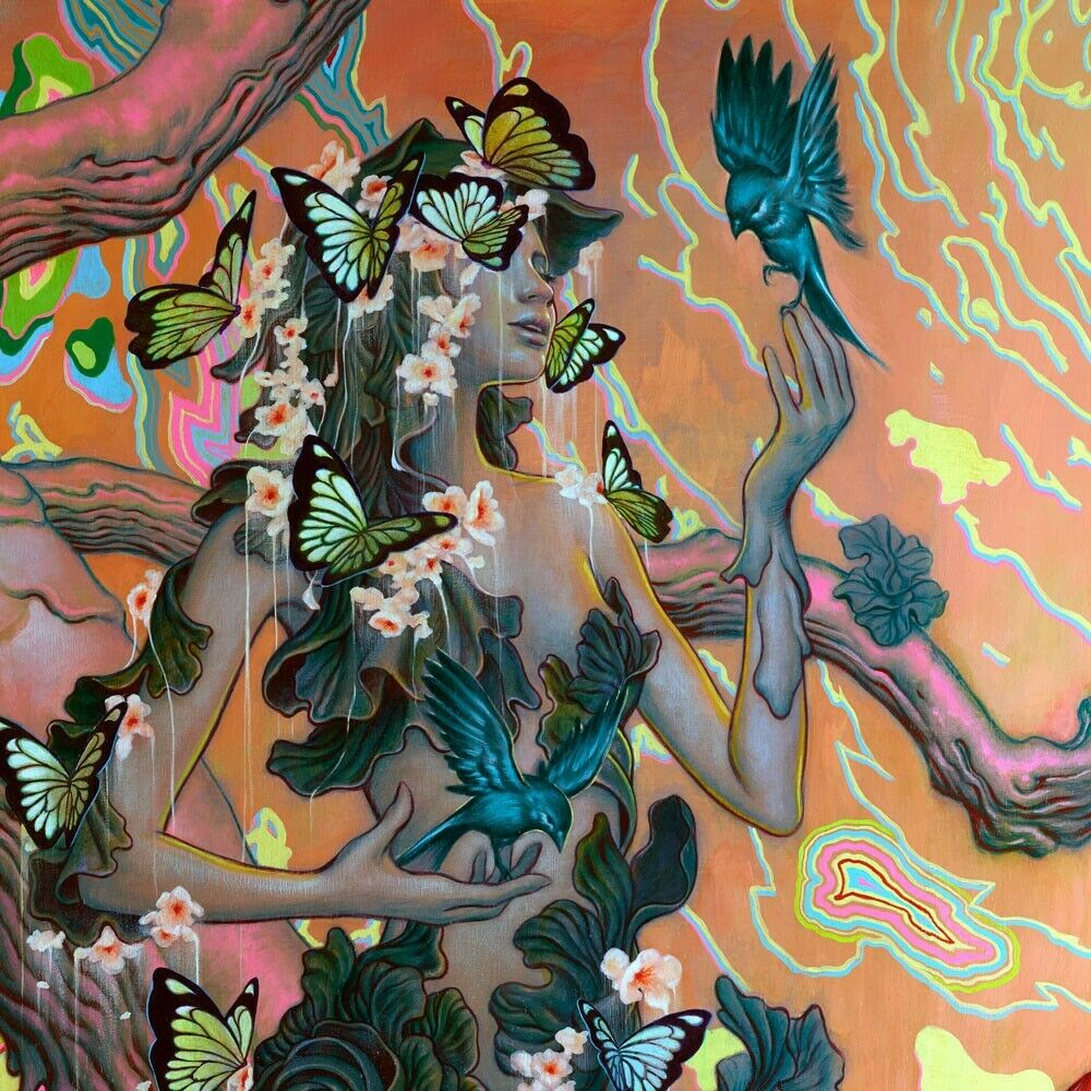 """James Jean 2014 """"Seasons"""" Signed & Numbered Art Giclee Print Poster"""
