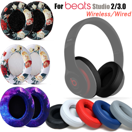 Replacement Earpad Ear Pads Cushion For Beats by dr dre Studio 2/3.0  Headphones