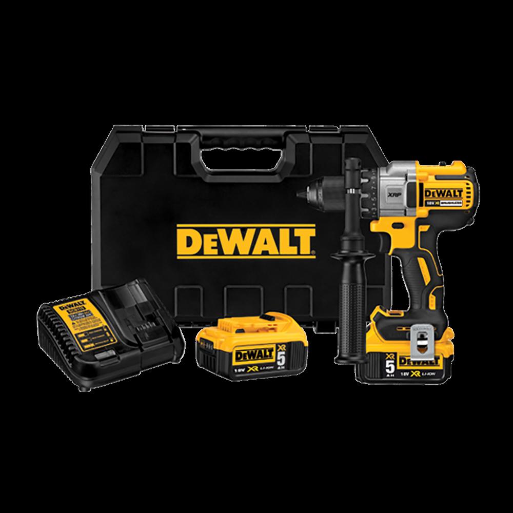 Dewalt DCD991P2 18V 5.0Ah Brushless G2 Premium Drill Driver