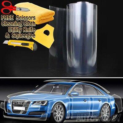 Car Parts - Clear Bra Paint Protection Vinyl Film Wrap Transparent Car Paint Scratch Shield