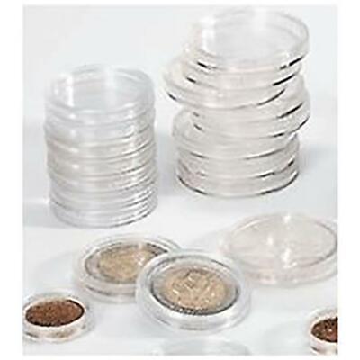 Cápsulas en Plexiglás Transparente 31mm para el 1000 Liras Plata