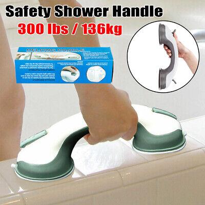- Safety Bath Shower Grip Handle Suction Cup Grab Bar Bathroom Toilet Tub Rail