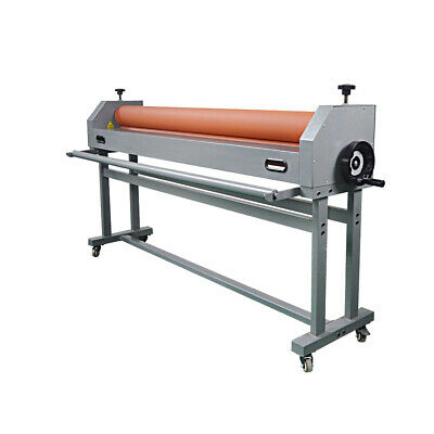 63 Stand Economical Single Side Wide Format Cold Roll Laminator