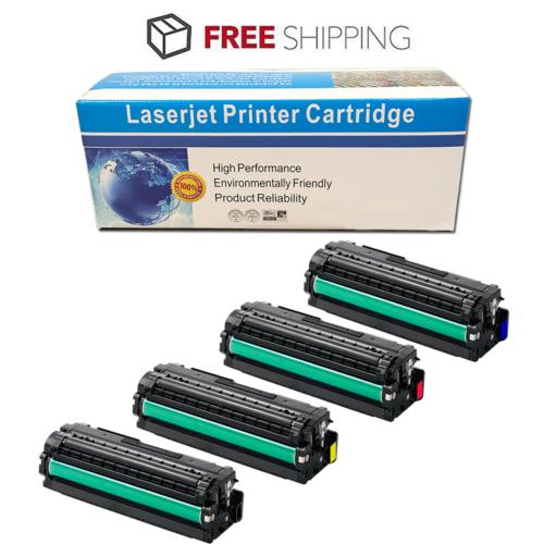 4 Compatible Toner Cartridge for Samsung CLT-K505L CLT-C505L CLT-M505L CLT-Y505L