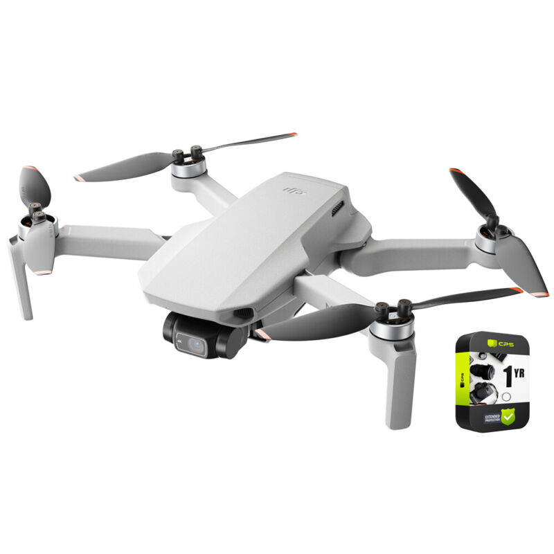 DJI Mini 2 Fly More Combo Drone 4K Video Quadcopter + Extended Warranty