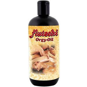 Flutschi Massage Öl Gleitöl Sexöl Intimöl für Erotik Sex Massage Vorspiel 500ml.