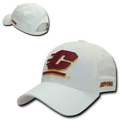 NCAA Central Michigan University Chippewas Structured Corduroy Baseball Caps Hat (Ncaa Baseballs)