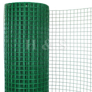 Image Is Loading 30m 0 91m Pvc Coated Welded Green Garden