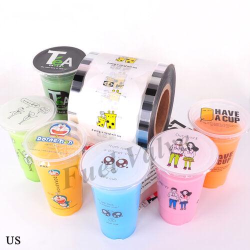 Cup Sealer Film Seal Film Milky Tea Cute Printing Pattern Healthy Material