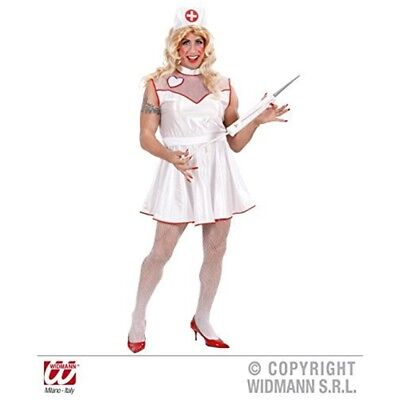 Nurse For Men - Drag Queens - Adult Fancy Dress Costume - 44-46