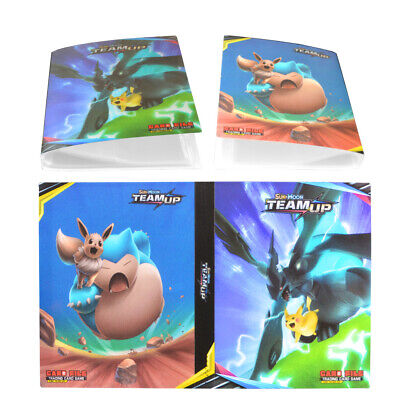 Pokemon Pikachu Binder Snorlax Pocket Album Card Portfolio Holder Cards Pro