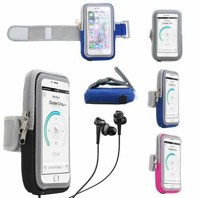 Sport Running Riding Arm Band Case For iPhone X 8 7 6 Plus Holder Zipper Bag Hot