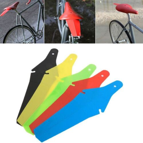 1 PC Practical Mugguard Rear Pretty  Fender Saddle Clip New Road Saver Bike Tool