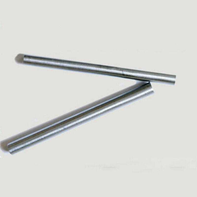 "2PCS 6mm(0.236"") Dia. 100mm(3.94"") Long N6 99.6% Pure Nickel Bar Round Rod US"