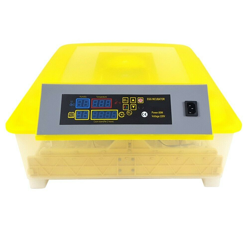 Digital Automatic 48 Egg Incubator Hatcher Temperature Control Turning Chicken Bird Supplies