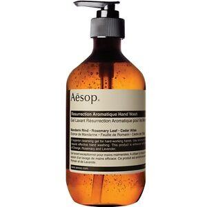 Aesop Resurrection Aromatique Hand Wash 500ml + Free Samples