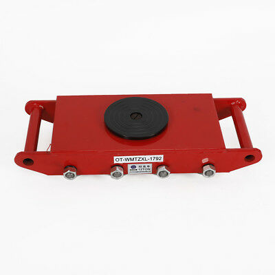 26400lbs Red Heavy Duty Machine Dolly Skate Roller Machinery Mover Steel Wheel