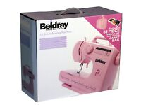 Pink Sewing Machine and Accessories- UNPACKED