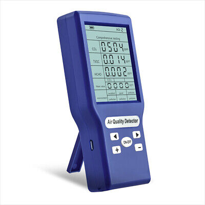 Co2 Ppm Meters Mini Carbon Dioxide Detector Gas Analyzer Air Quality Tester