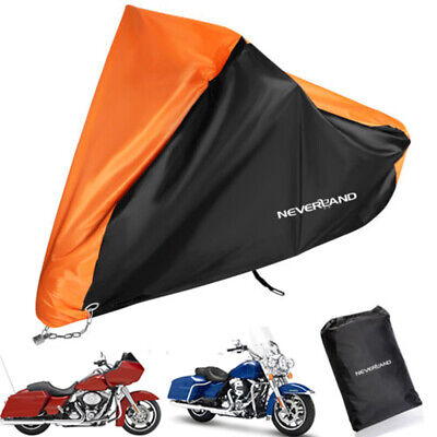 XXXL Waterproof Motorcycle Cover For Harley Davidson Road Street Glide Touring