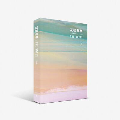 BTS 花樣年華 The NOTES 2 [KOREAN ver.] Book+Special Notebook+Free Gift+Tracking no.