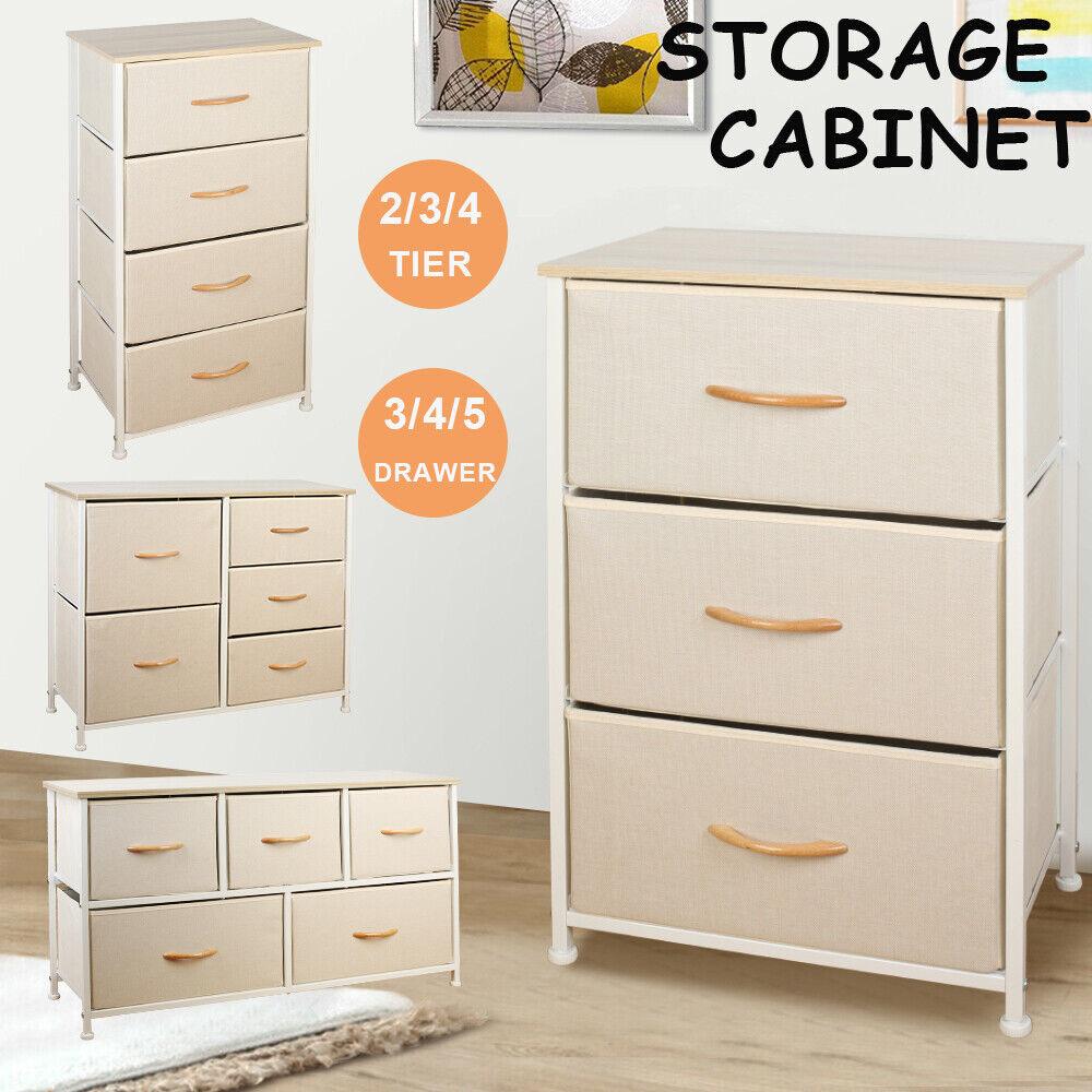 5 Drawer Closet Island Storage Clothes Organizer Cabinet Bedroom Drawers White For Sale Online | EBay
