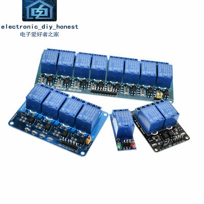5v 12v 1 2 4 6 8 channel relay module  optocoupler Relay Output 1 2 4 6 8 way