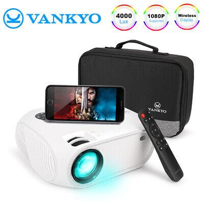 VANKYO LEISURE 450 1080P HD Mini Projector 4000Lux Portable Movie Projector