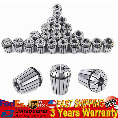 22 X Er32 Spring Collet Set 116-34 Cnc Precision Milling Tool 16th 32nd