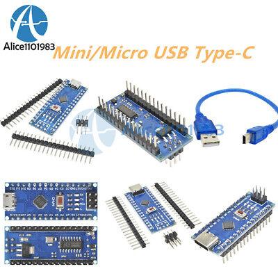 Minimicro Usb Type-c Nano V3.0 Atmega328 5v 16m Micro-controller Ch340g Arduino