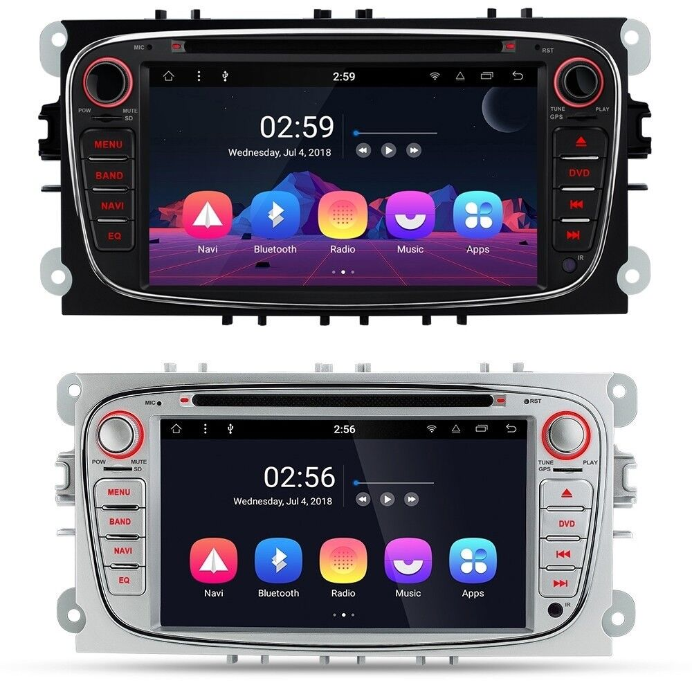 Ford Focus Connect Fiesta 7 inch Android HD Screen WiFi GPS