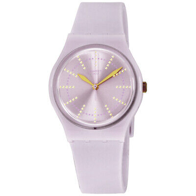 Swatch Originals Quartz Movement Pink Dial Ladies Watch GP148 **Open Box**