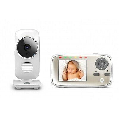 Motorola MPB483 Wireless Digital Baby Audio Video Monitor Night Vision