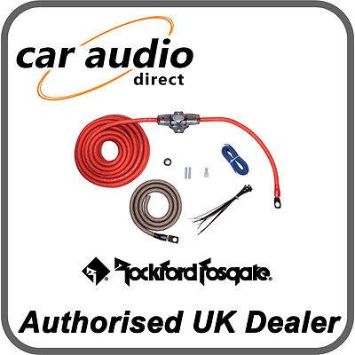 Rockford Fosgate RFK4 4 AWG Power Amp Installation Kit Power Amp Installation Kit
