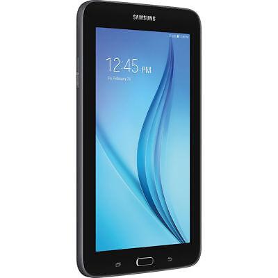 "NEW SAMSUNG GALAXY TAB E LITE SM-T113 8GB Wi-Fi 7"" BLACK GPS NOOK TABLET"