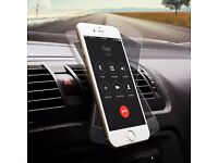 ***TOP SELLER** Car Mount Grip Magic Mobile Phone Cradle Air Vent Magnetic Phone Holder black