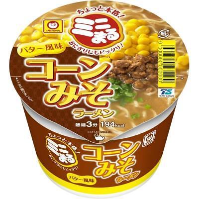 Maruchan Corn Miso Ramen Noodles mini 49g×12 Japanese Instant Cup Japan