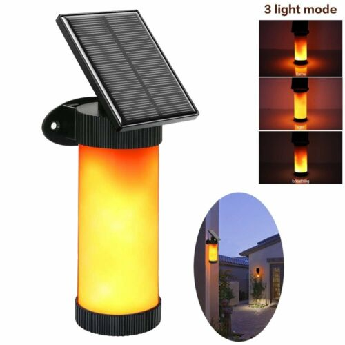 LED Solar Path Torch Dancing Flame Light Flickering Fire Out
