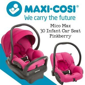 NEW Maxi-Cosi Mico Max 30 Infant Car Seat - Pinkberry Condtion: New, Pinkberry