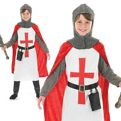 Jungen Ritter Kostüm Kinder st George Kreuzfahrer Buch - St George Kostüm Kind