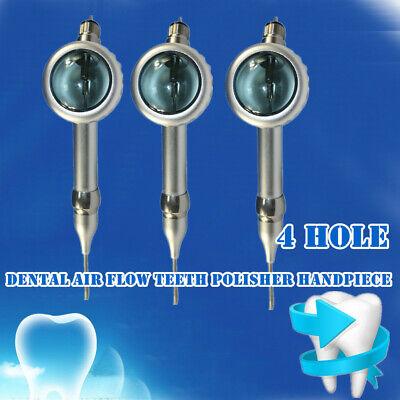 3 Pieces Dental Air Flow Teeth Polishing Polisher Handpiece Hygiene Prophy Sale